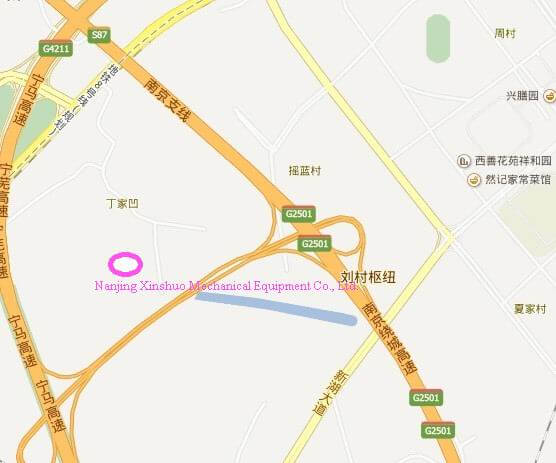 Nanjing-Xinshuo address