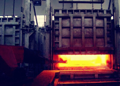 stainless steel process - heat treatment