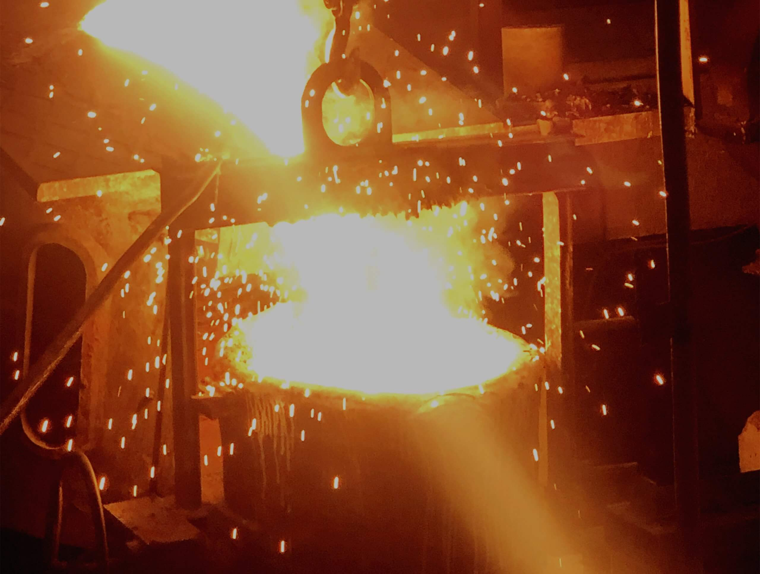 stainless steel process - melting